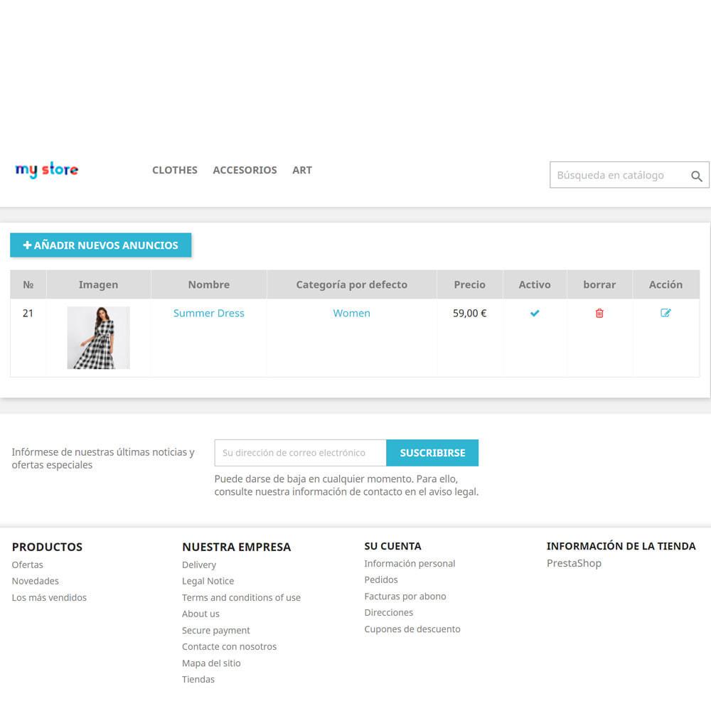 module - Creación de Marketplace - Tablón de anuncios para clientes - 5