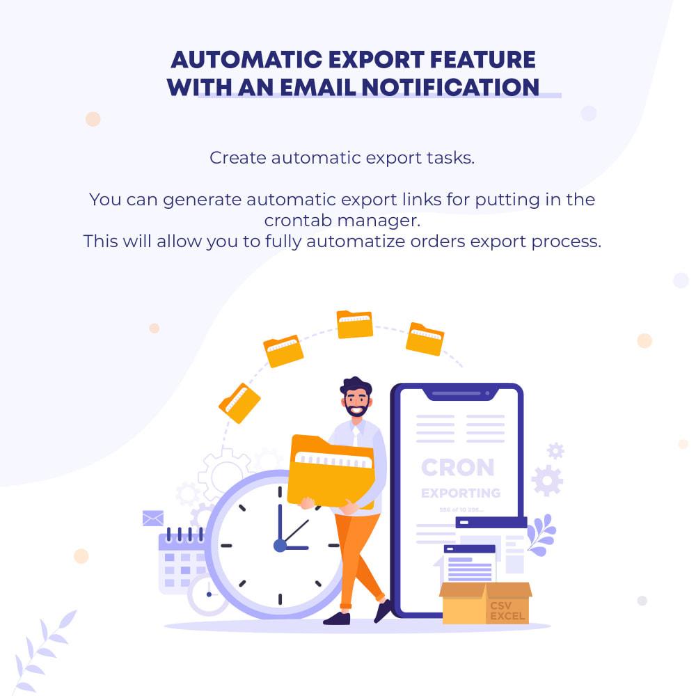 module - Импорт и Экспорт данных - Orders (CSV, Excel) Export PRO - 3