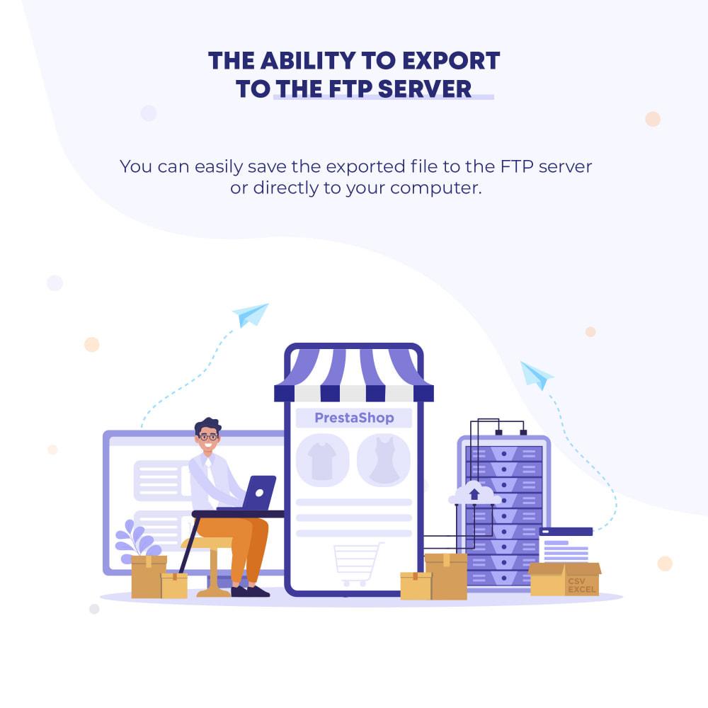 module - Импорт и Экспорт данных - Orders (CSV, Excel) Export PRO - 4