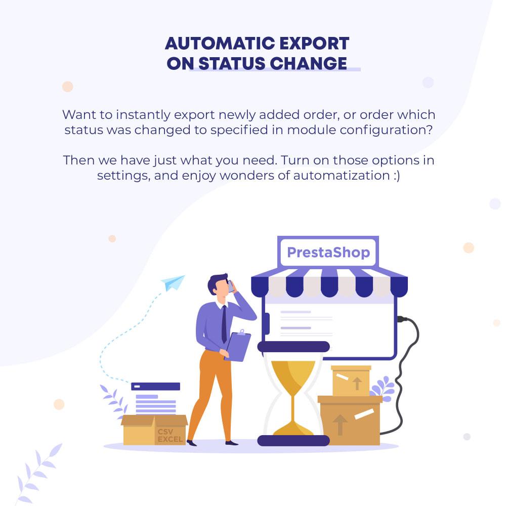 module - Импорт и Экспорт данных - Orders (CSV, Excel) Export PRO - 5