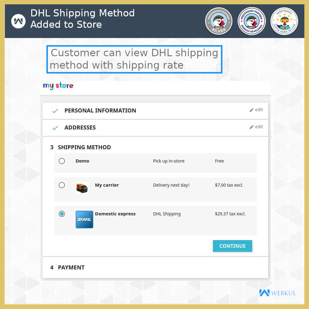 module - Transportadoras - DHL Shipping with Label Print | API Based Shipping - 4