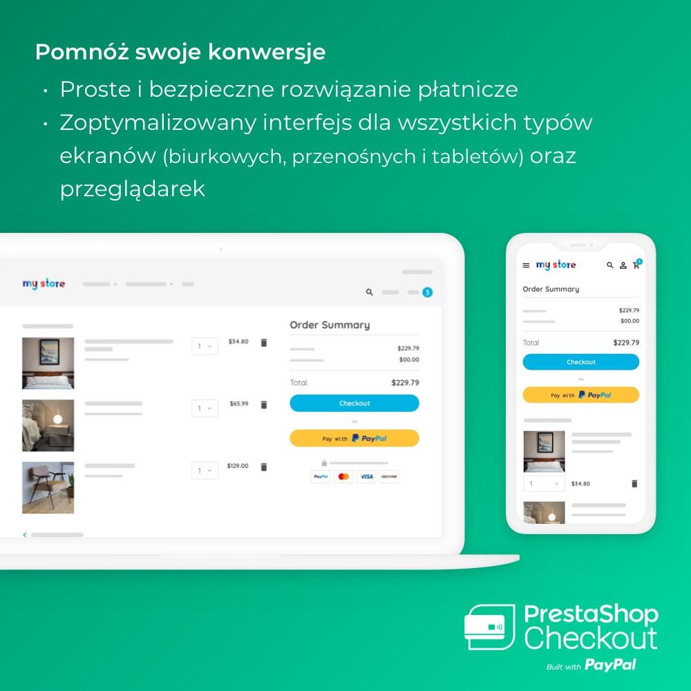 module - Płatność kartą lub Płatność Wallet - PrestaShop Checkout built with PayPal - 2