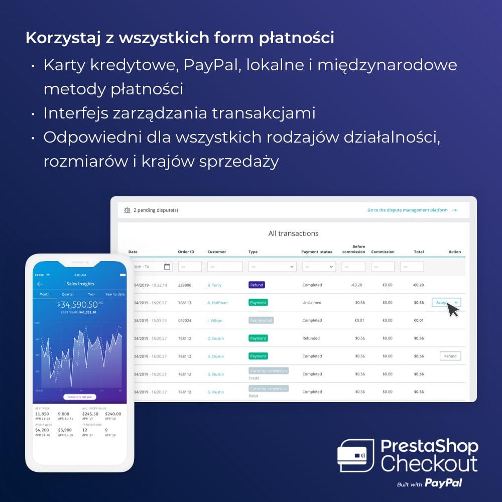 module - Płatność kartą lub Płatność Wallet - PrestaShop Checkout built with PayPal - 5