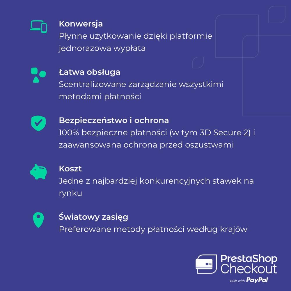 module - Płatność kartą lub Płatność Wallet - PrestaShop Checkout built with PayPal - 9