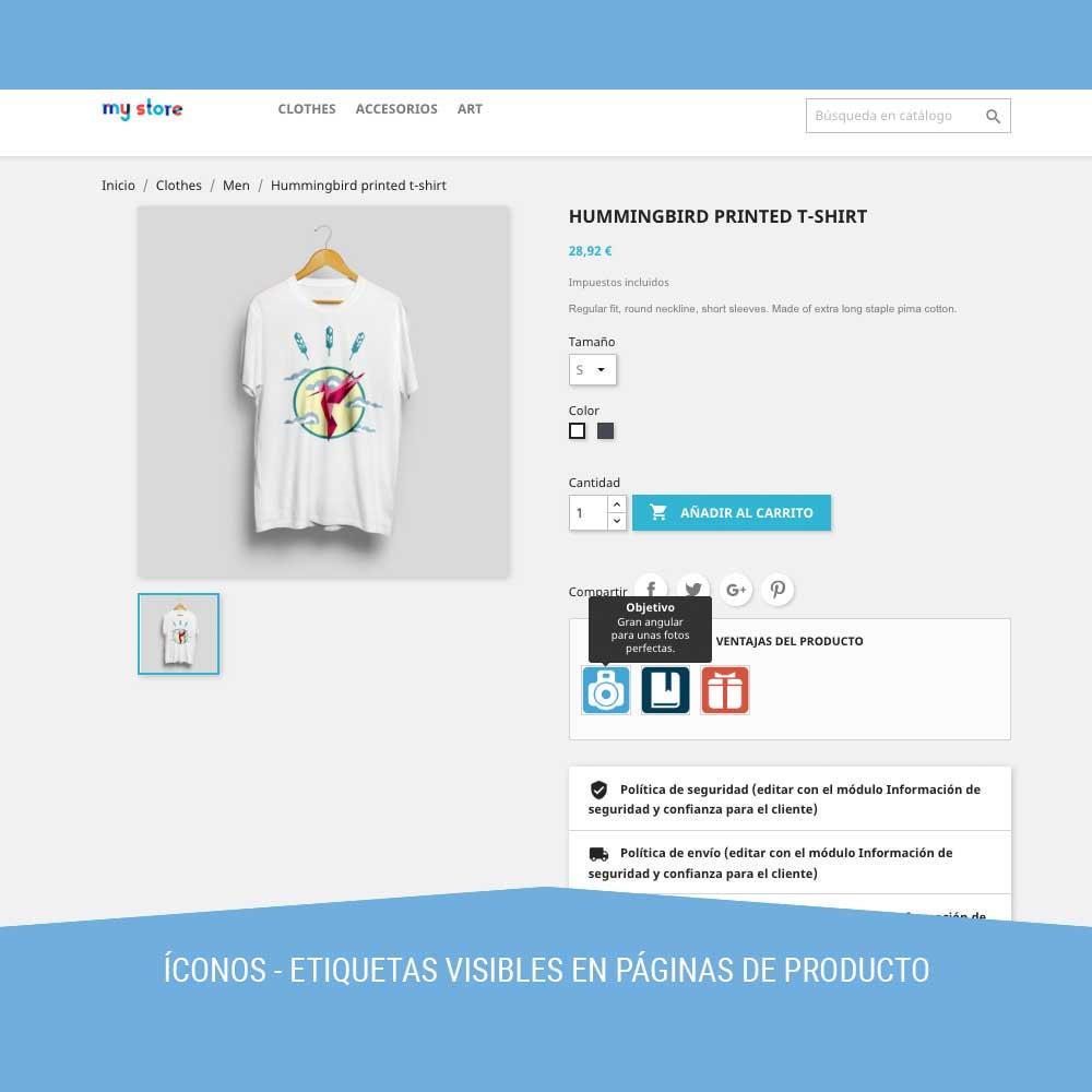 module - Etiquetas y Logos - Icon tags para Productos - 5