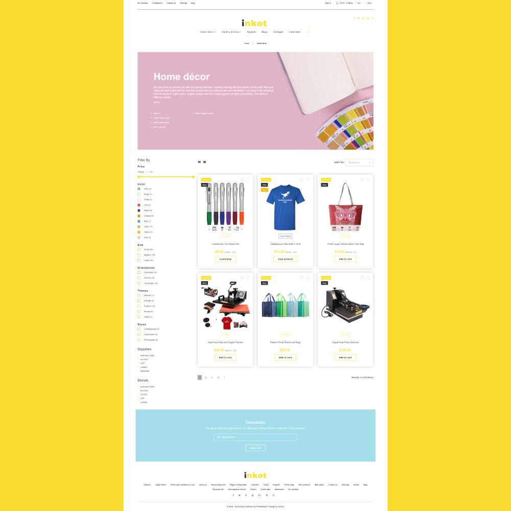 theme - Arte & Cultura - Inkot - Print Shop - 4