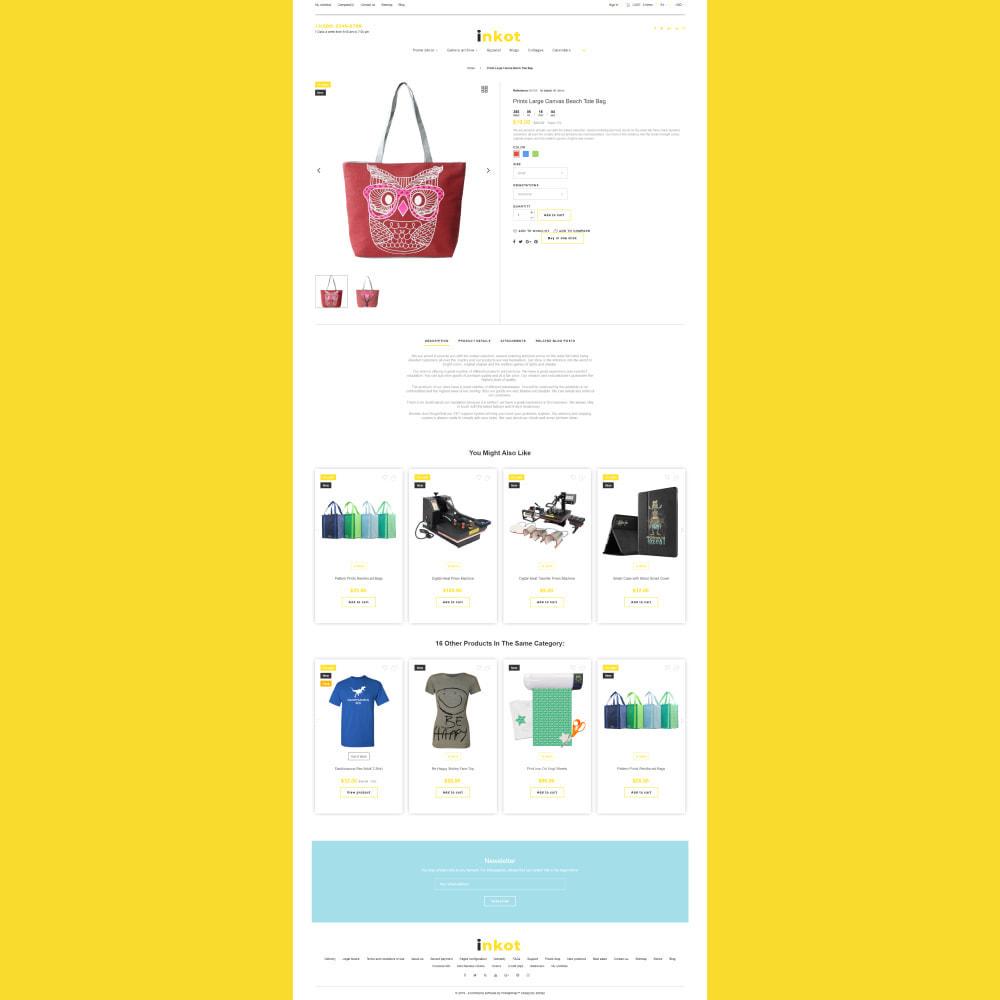 theme - Arte & Cultura - Inkot - Print Shop - 5