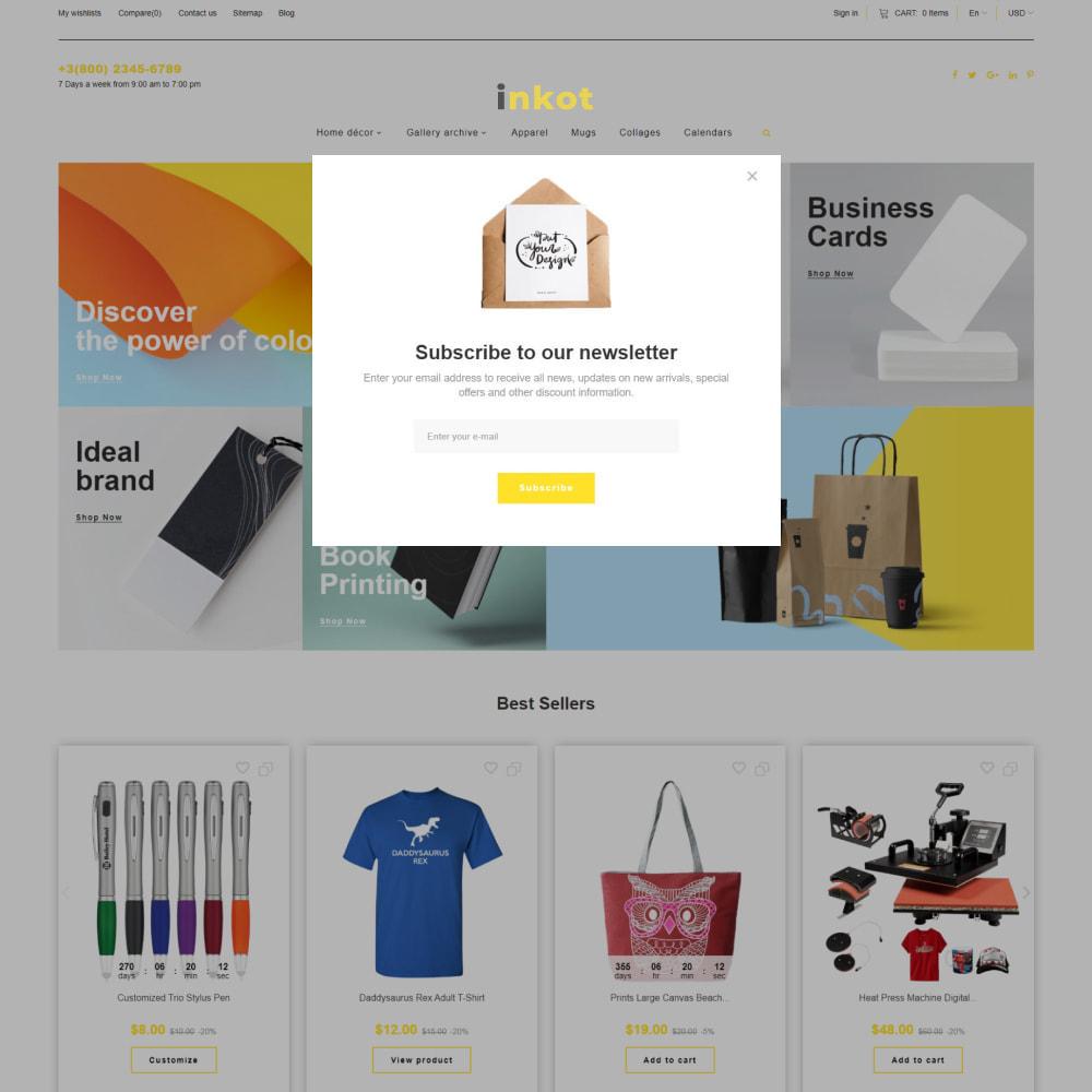 theme - Arte y Cultura - Inkot - Print Shop - 6
