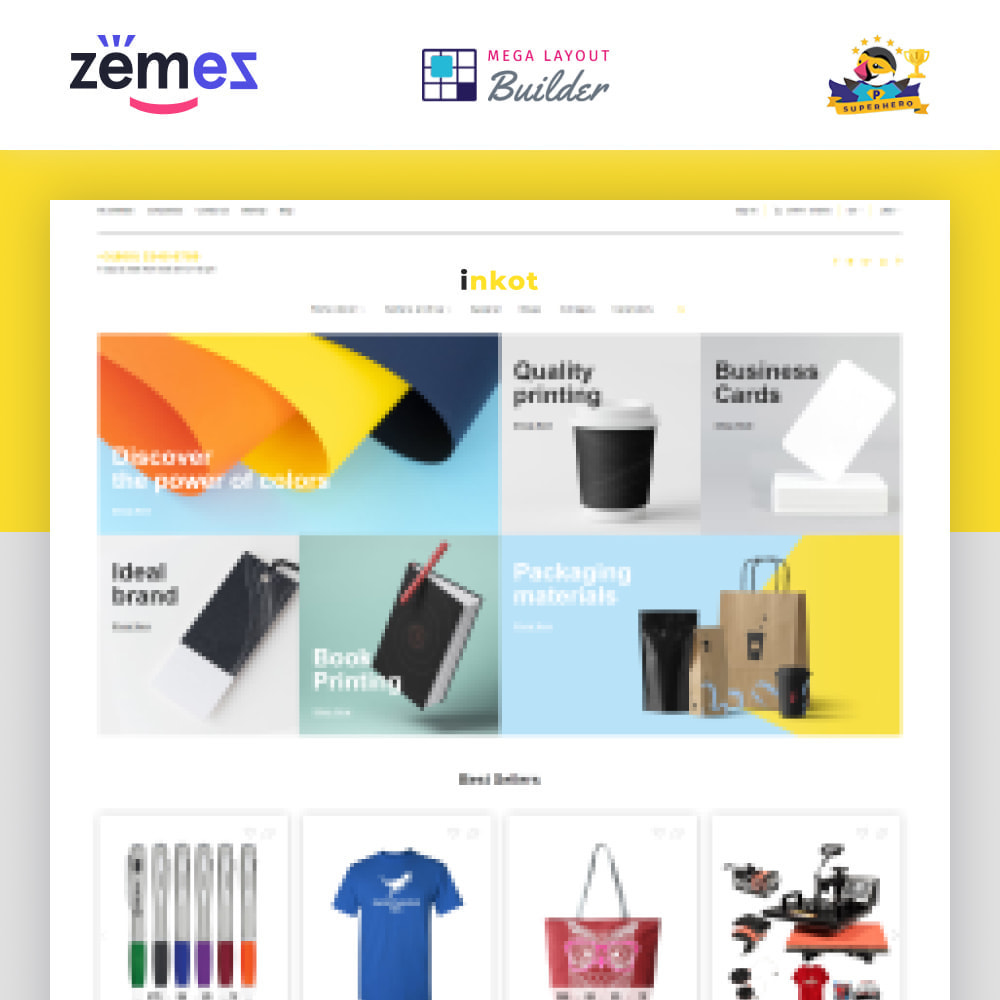 theme - Art & Culture - Inkot - Print Shop - 1