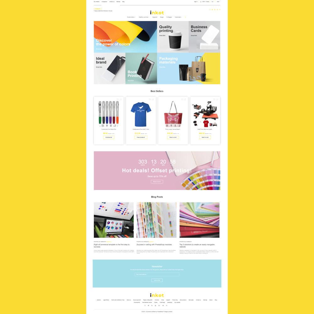 theme - Art & Culture - Inkot - Print Shop - 3