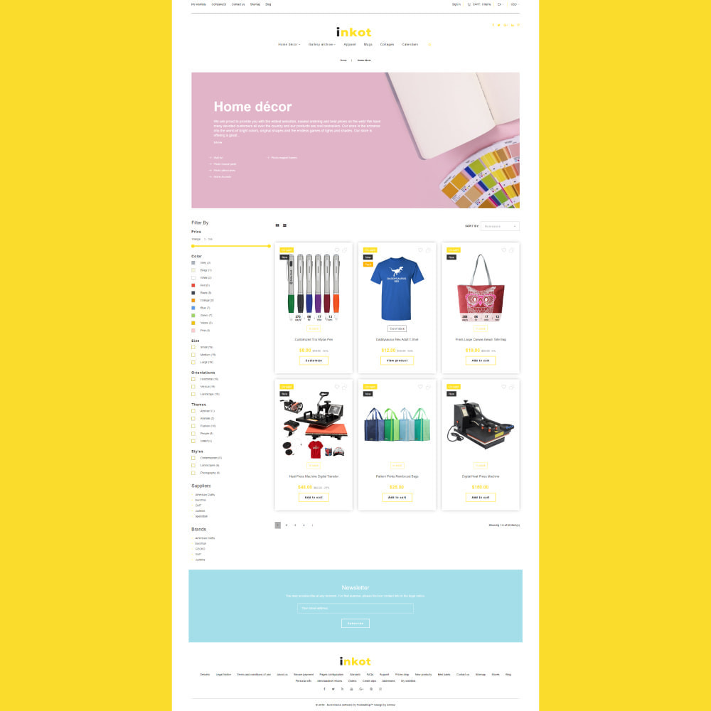 theme - Art & Culture - Inkot - Print Shop - 4