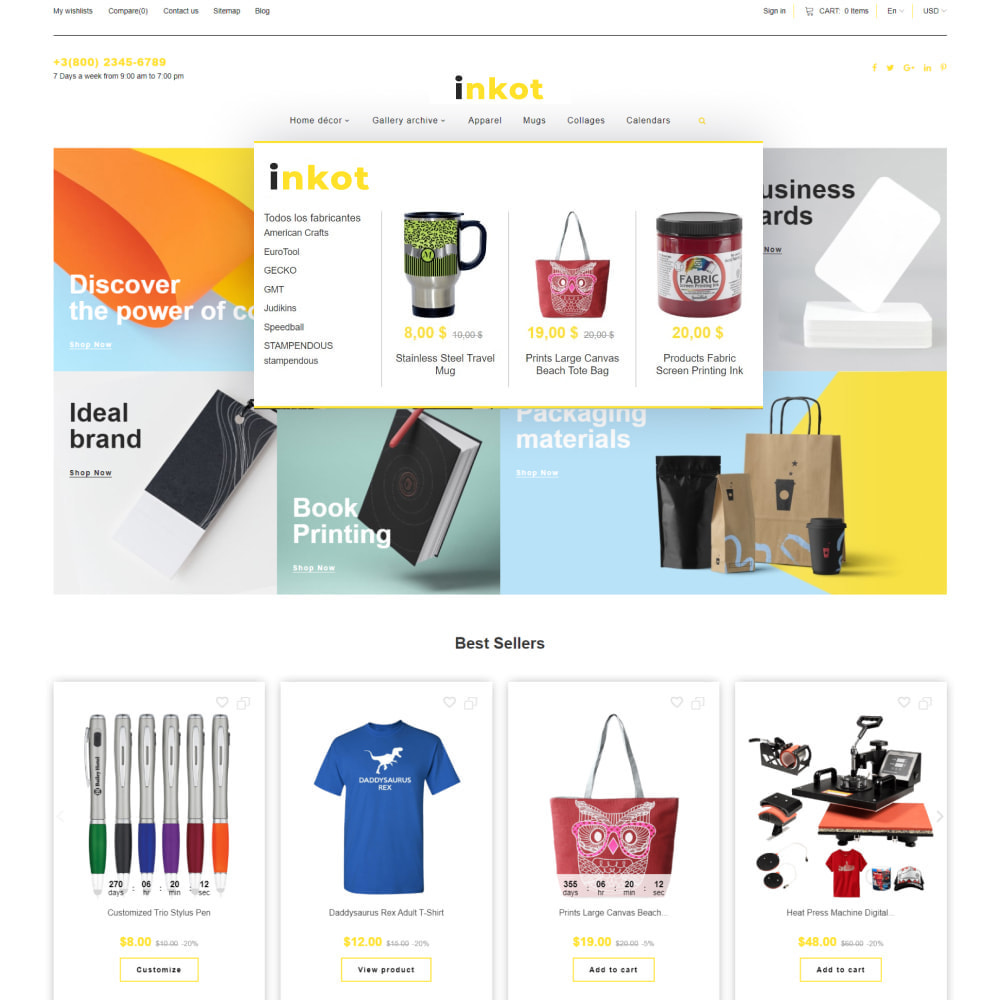 theme - Art & Culture - Inkot - Print Shop - 7