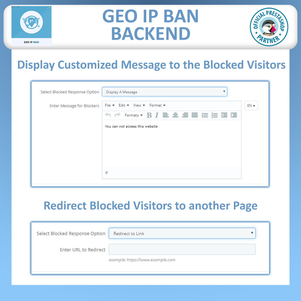 module - Segurança & Acesso - Geo IP Ban - Block IP Bots & Users by IP or Country - 4