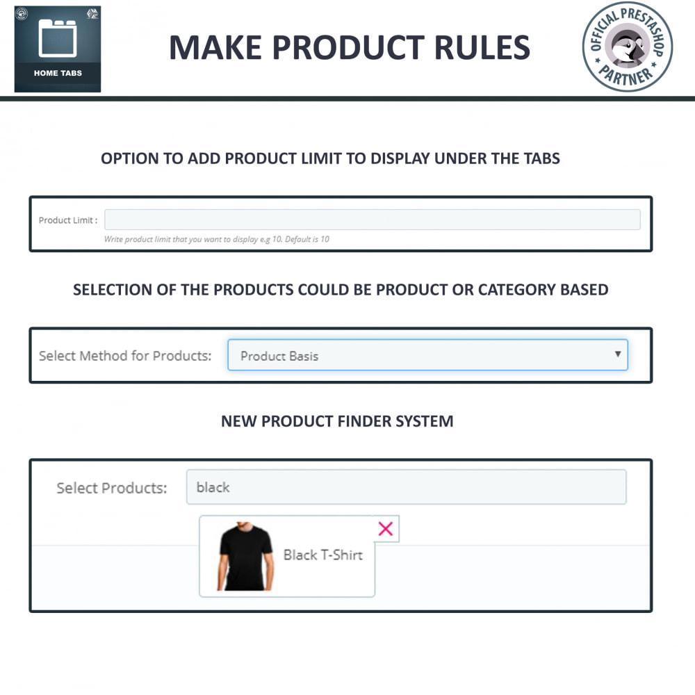 module - Blocks, Tabs & Banners - Home Tabs - Add Custom Products Sorting Tabs - 8