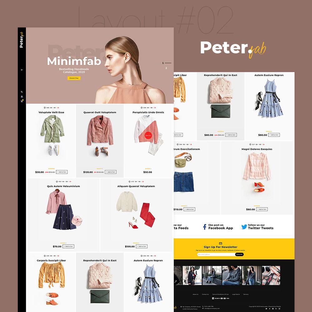 theme - Mode & Schoenen - Peter - Fashion Boutique For Creatives - 3