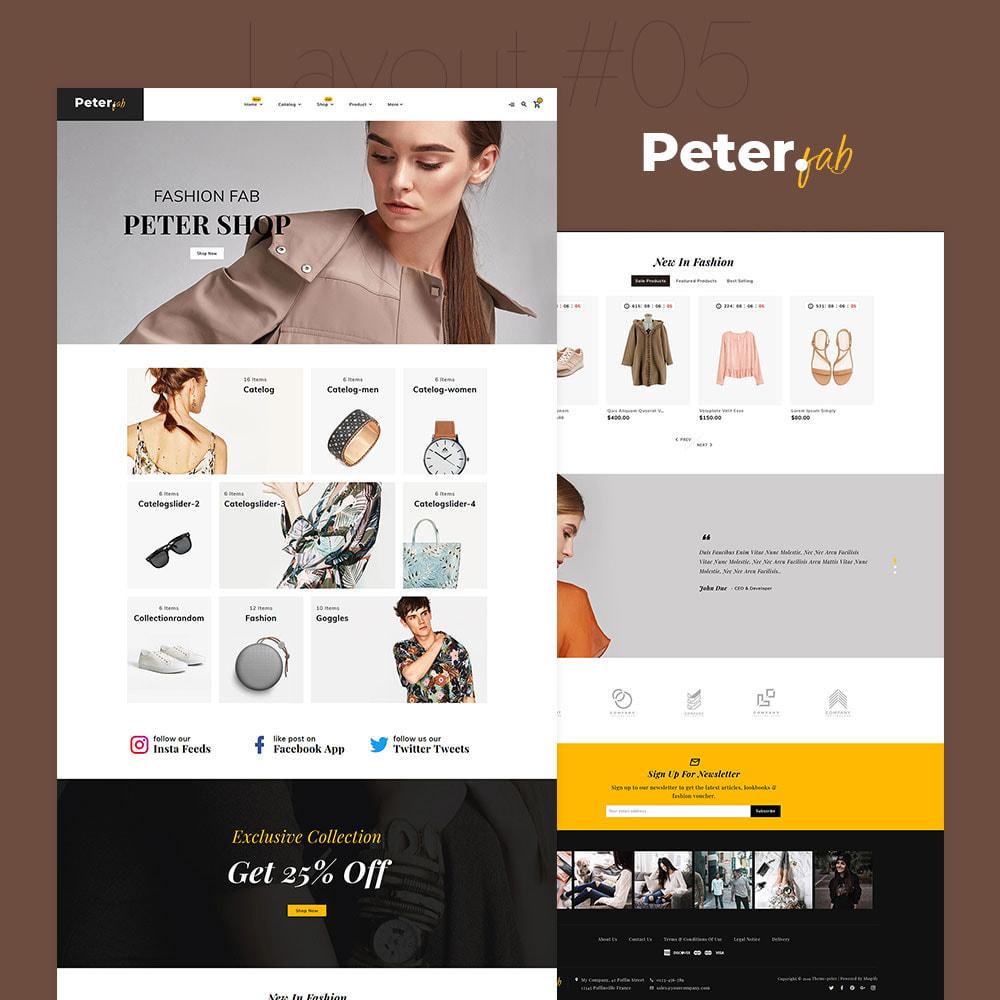 theme - Mode & Schoenen - Peter - Fashion Boutique For Creatives - 6