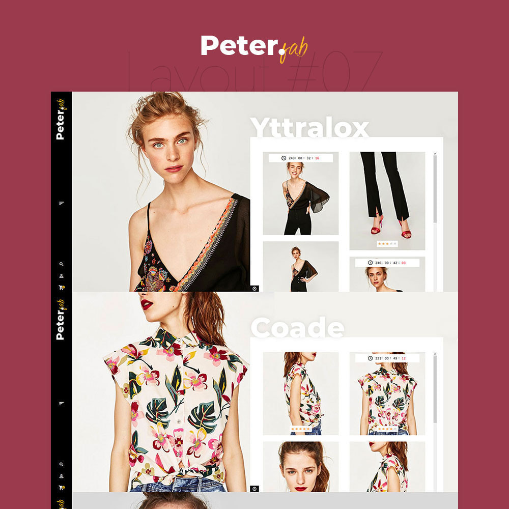 theme - Mode & Schoenen - Peter - Fashion Boutique For Creatives - 8