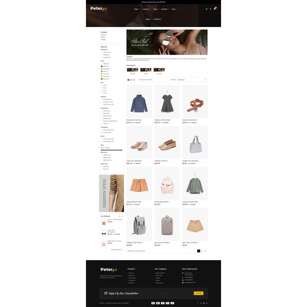 theme - Mode & Schoenen - Peter - Fashion Boutique For Creatives - 11