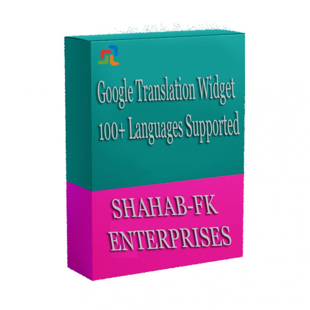 module - Międzynarodowość & Lokalizacja - Tłumaczenie Google sklepu w ponad 100 językach - 1