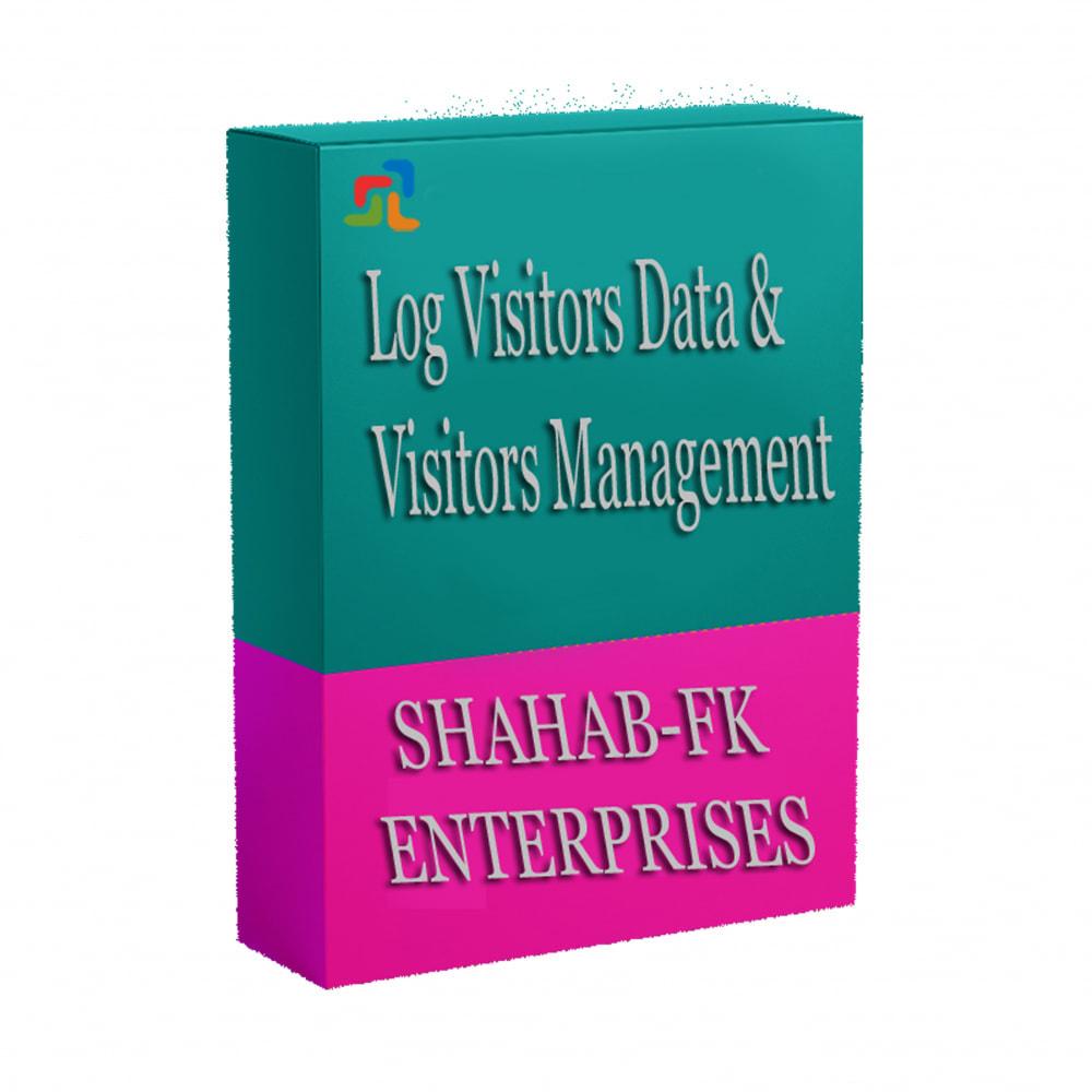 module - Статистика и анализ - Регистрация посетителей данных и управления - 4