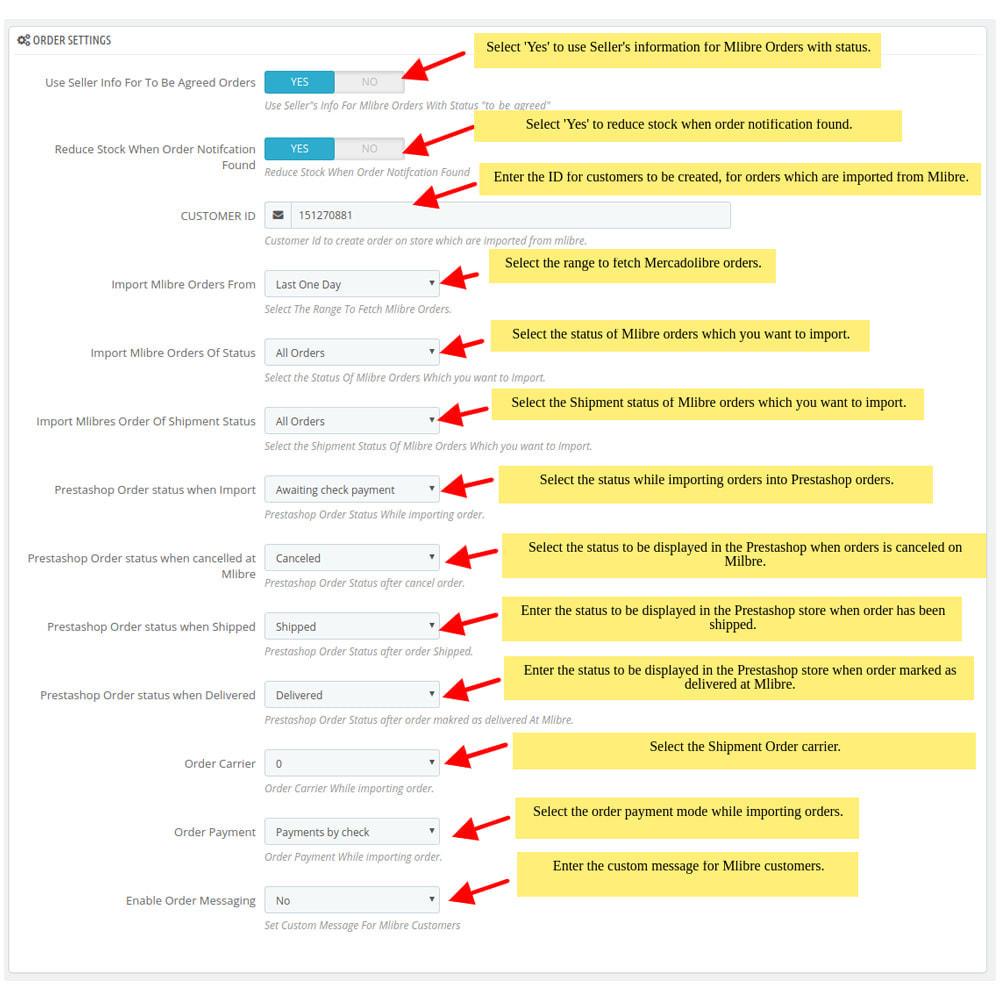 module - Datenabbindungen zu Drittsystemen (CRM, ERP, ...) - MercadoLibre Integration - 3