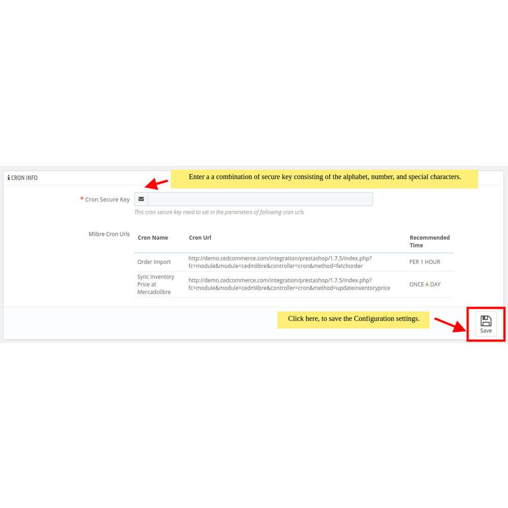 module - Datenabbindungen zu Drittsystemen (CRM, ERP, ...) - MercadoLibre Integration - 4