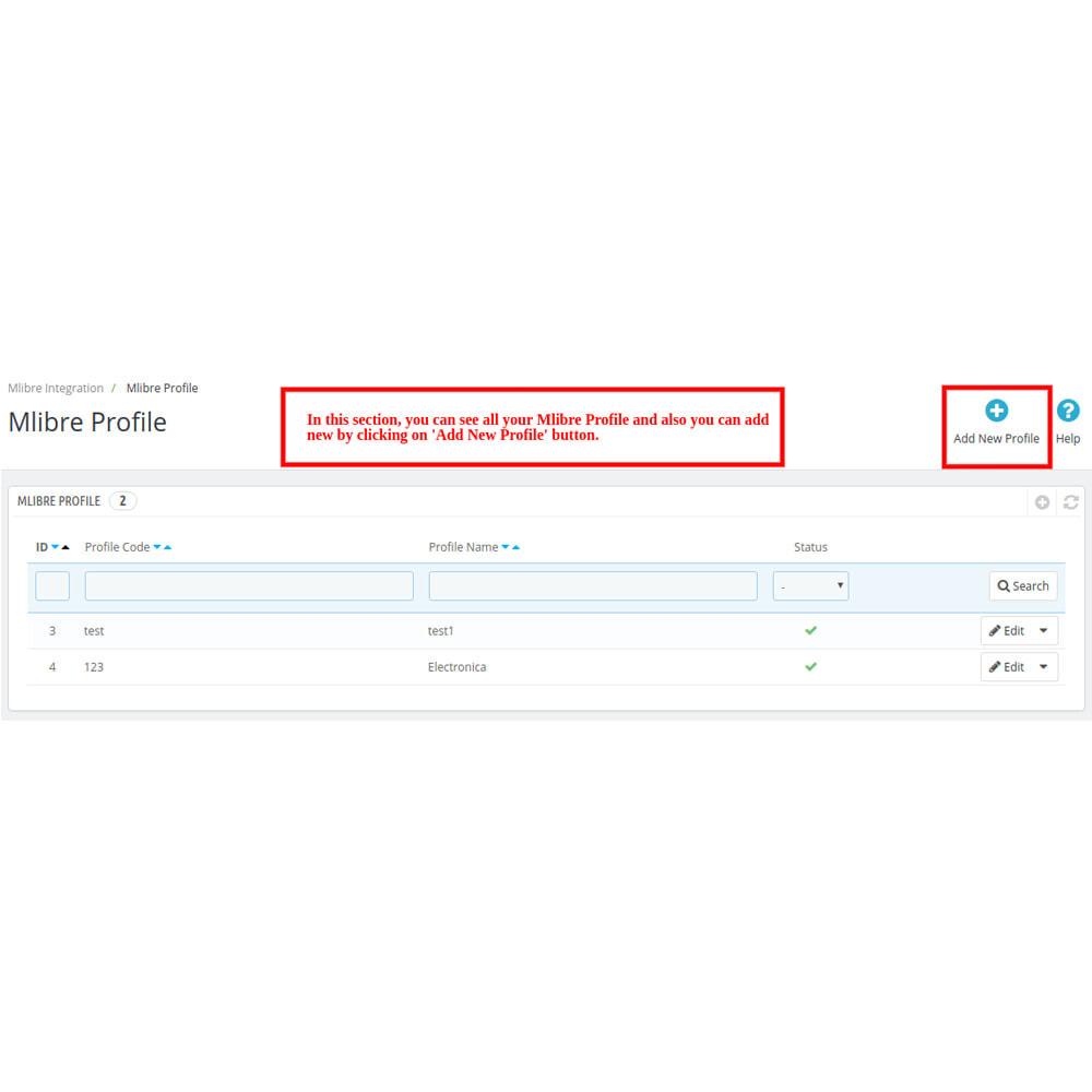 module - Datenabbindungen zu Drittsystemen (CRM, ERP, ...) - MercadoLibre Integration - 5