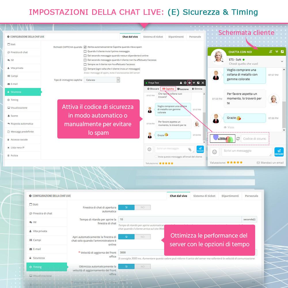 module - Supporto & Chat online - Chat live, modulo di contatto e sistema di ticketing - 8