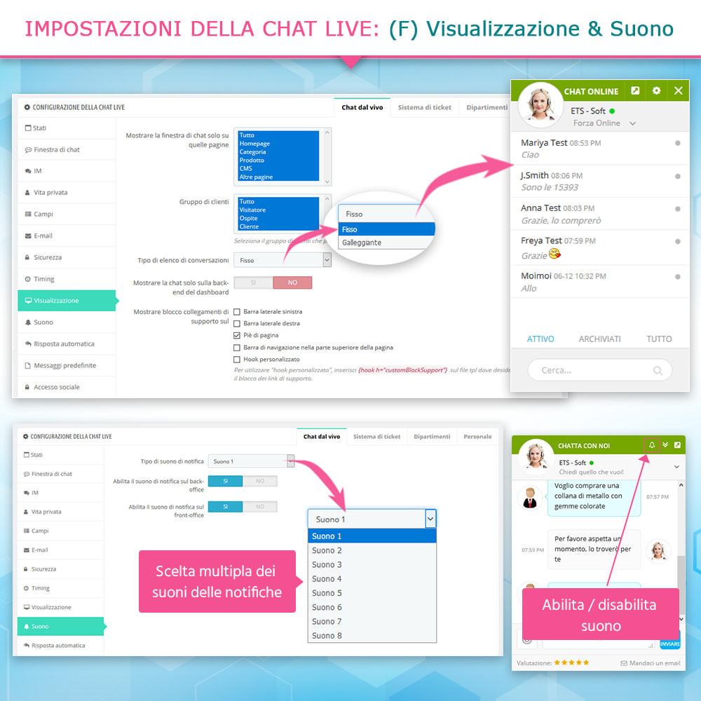module - Supporto & Chat online - Chat live, modulo di contatto e sistema di ticketing - 9