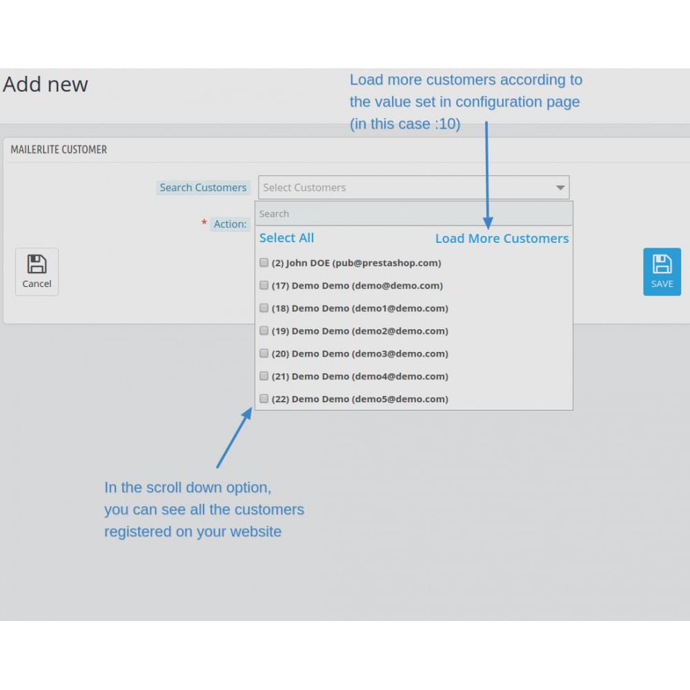 module - Рассылка новостей и SMS - Automatically subscribe MailerLite Subscription - 13
