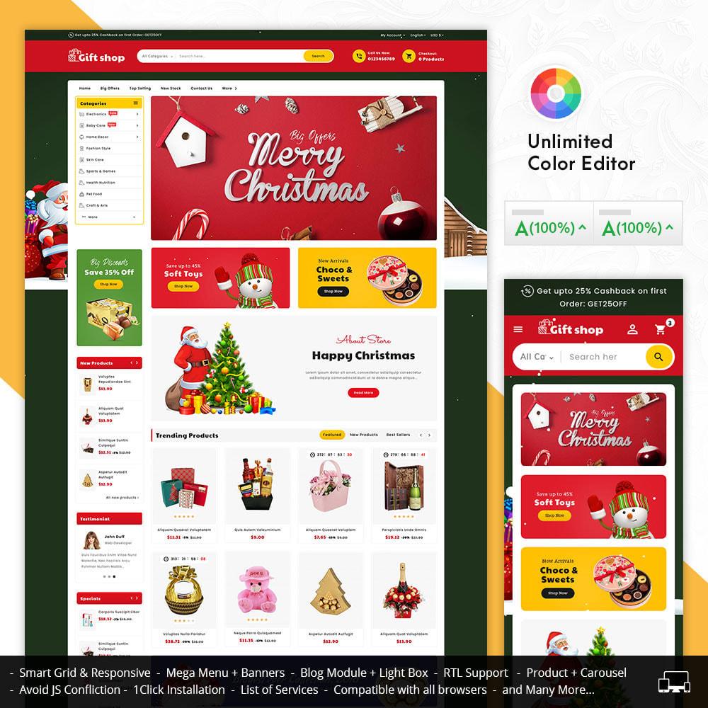 theme - Geschenke, Blumen & Feiern - Gift & Articles Shop - 1