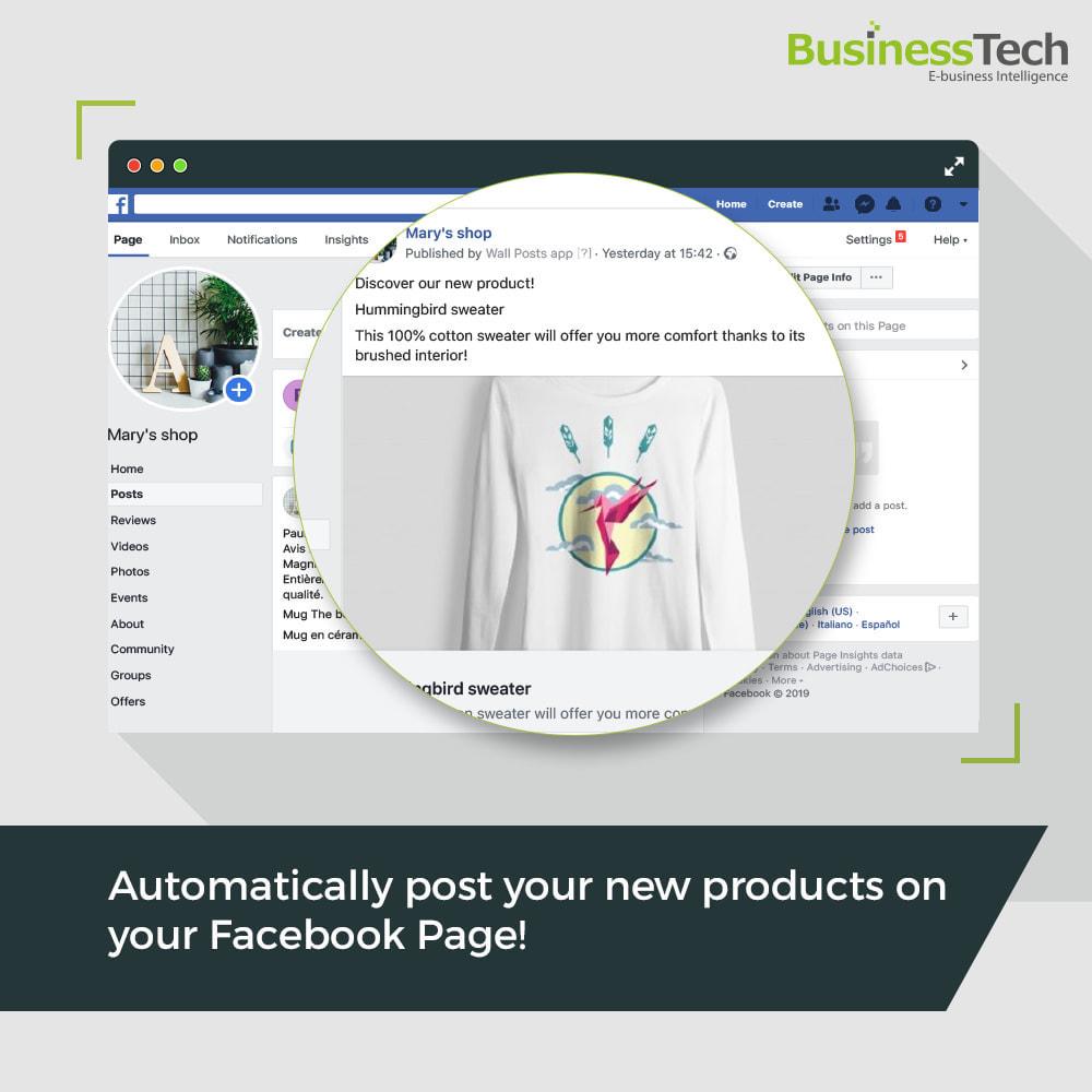module - Produkte in Facebook & sozialen Netzwerken - Wall Posts - 1