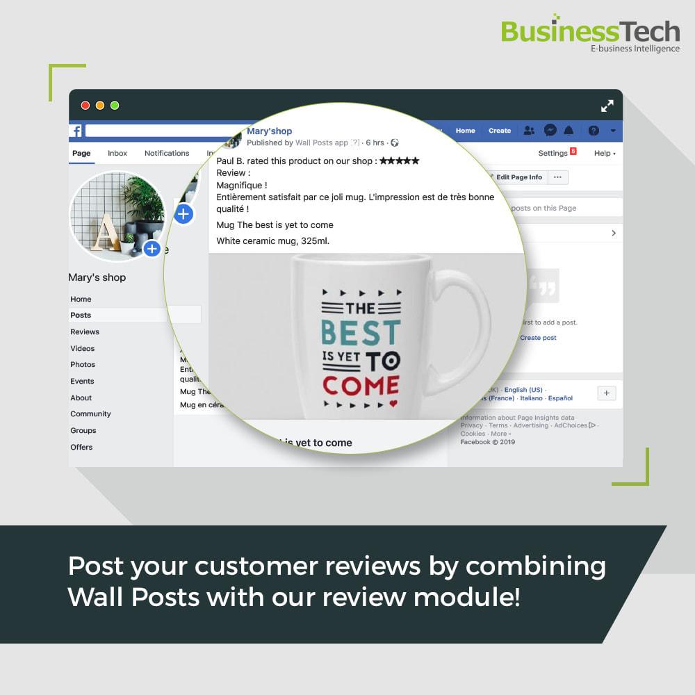 module - Produkte in Facebook & sozialen Netzwerken - Wall Posts - 3