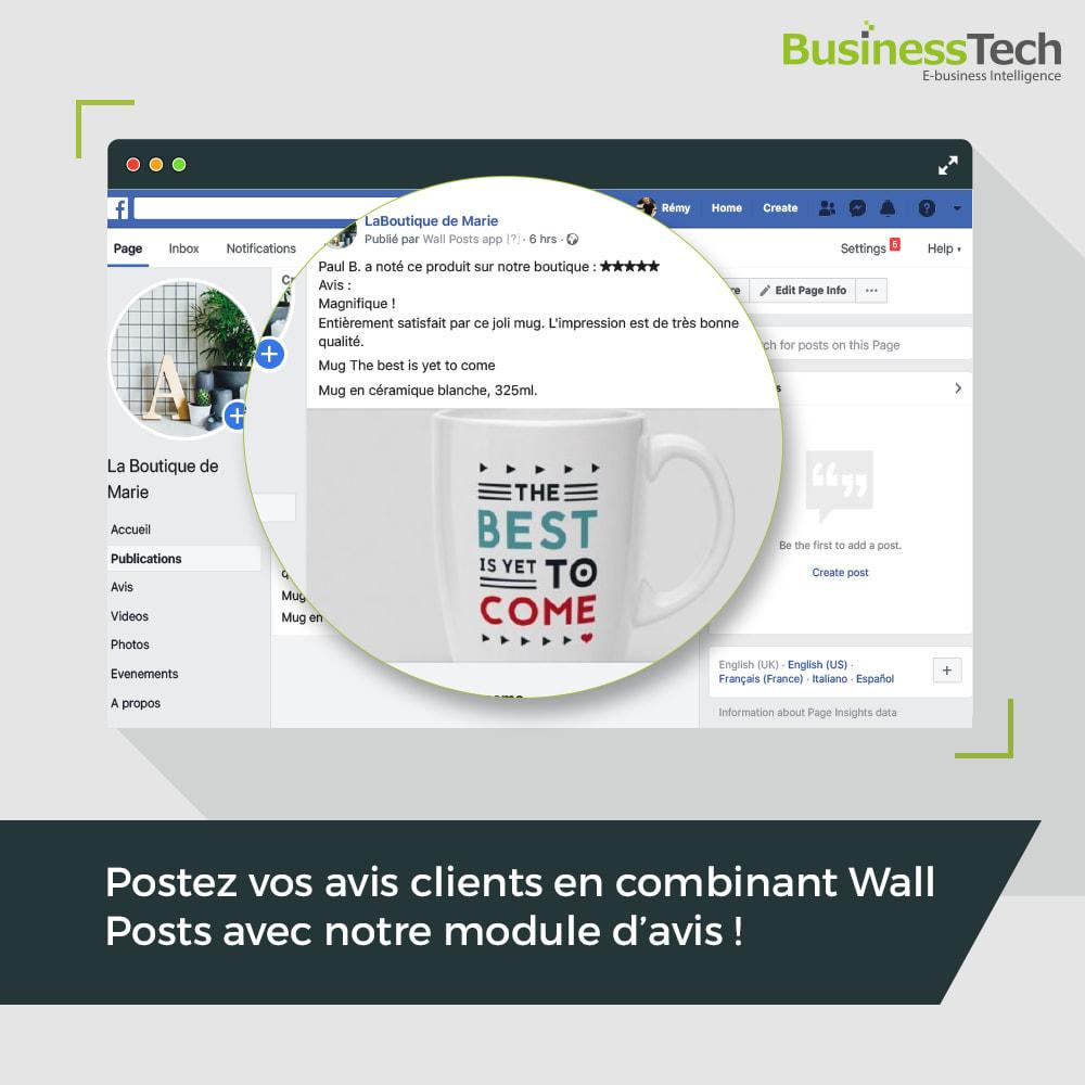 module - Produits sur Facebook & réseaux sociaux - Wall Posts - 3