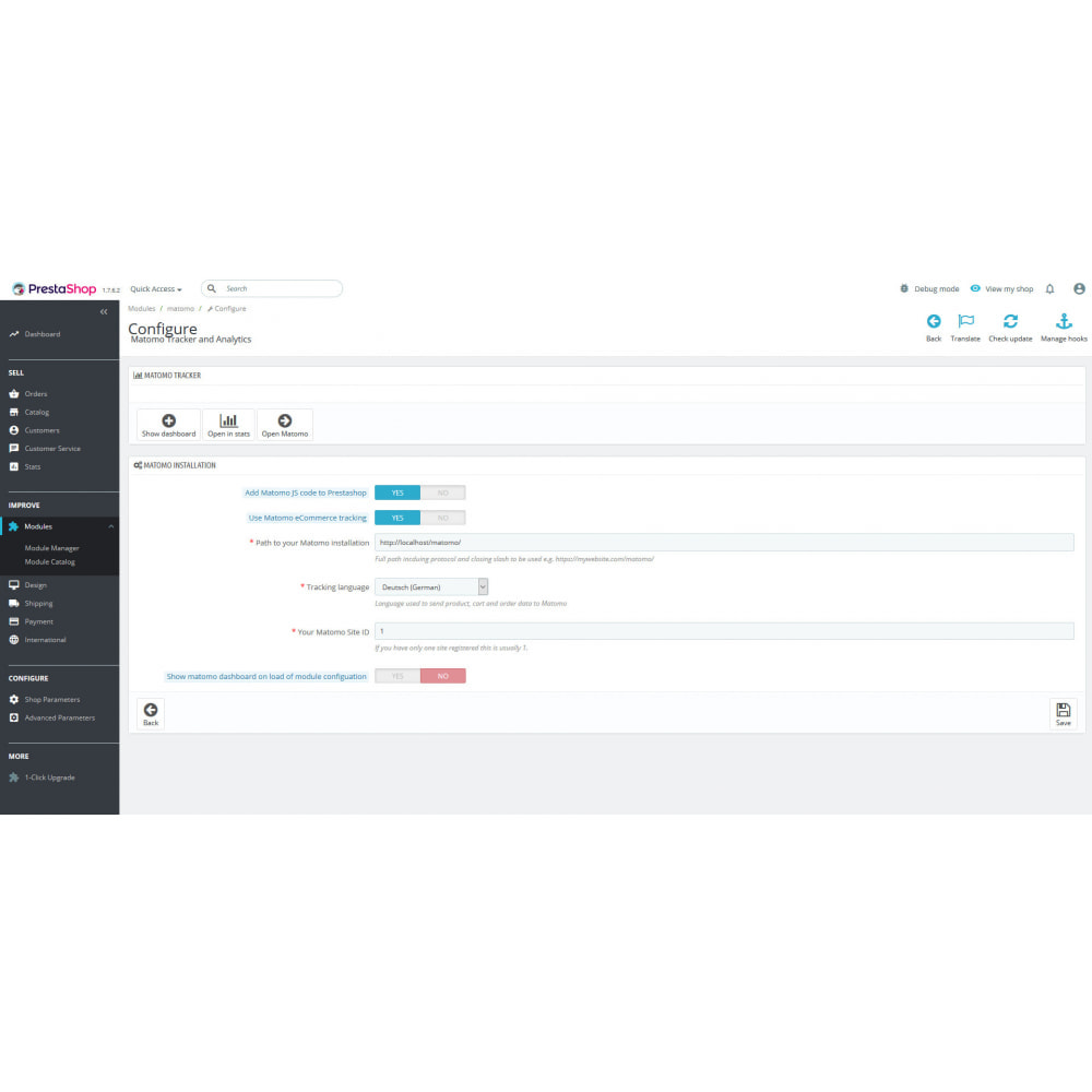 module - Analyses & Statistiques - Matomo Tracker and Analytics - 4