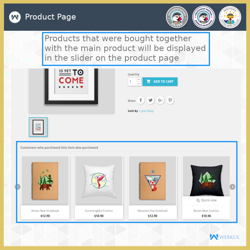 module - Cross-selling & Product Bundles - Who Bought This Also Bought - 4