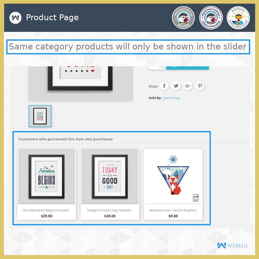 module - Cross-selling & Product Bundles - Who Bought This Also Bought - 6