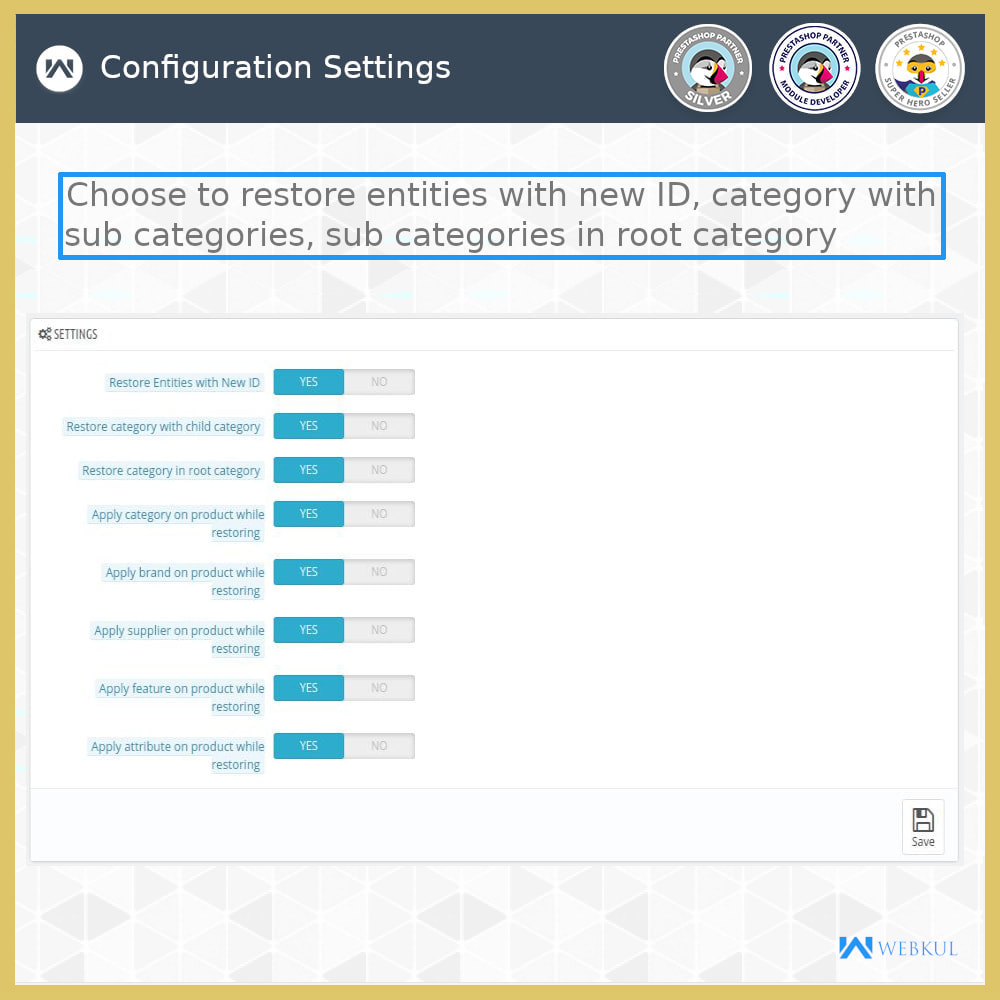 module - Migracja & Backup - Restore Deleted Data - Products, Categories and More - 9