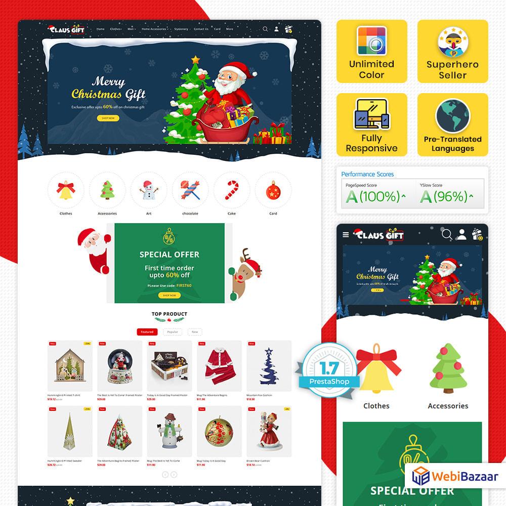 theme - Regalos, Flores y Celebraciones - Clause GIFT - The Christmas - 1