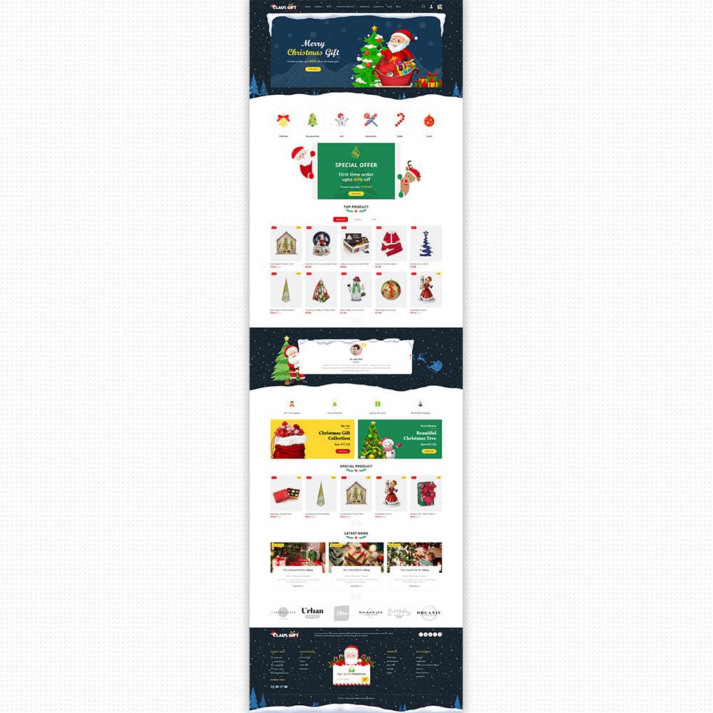 theme - Regalos, Flores y Celebraciones - Clause GIFT - The Christmas - 5