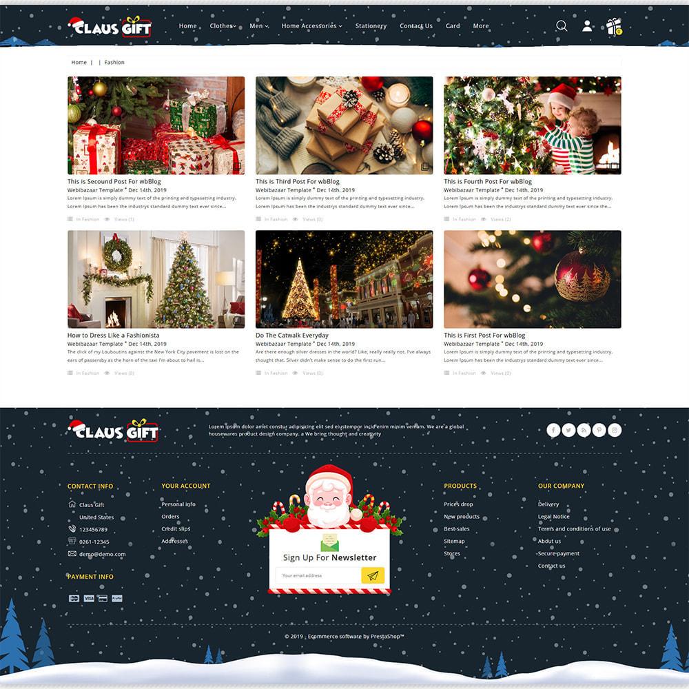 theme - Regalos, Flores y Celebraciones - Clause GIFT - The Christmas - 7