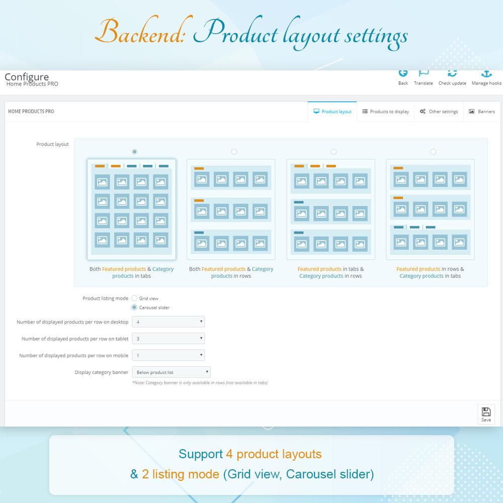 module - Gestão dos Produtos na Página Inicial - Home Products PRO - 6