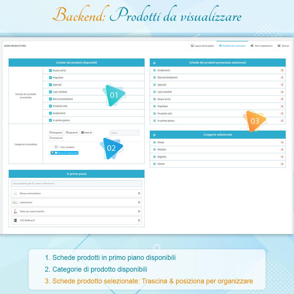 module - Prodotti su Home - Home Products PRO - Lista prodotti personalizzabili - 7