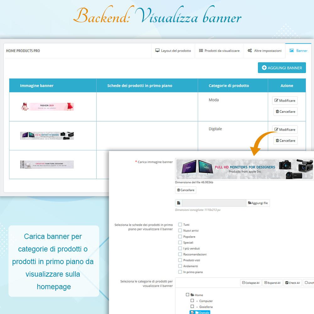 module - Prodotti su Home - Home Products PRO - Lista prodotti personalizzabili - 9