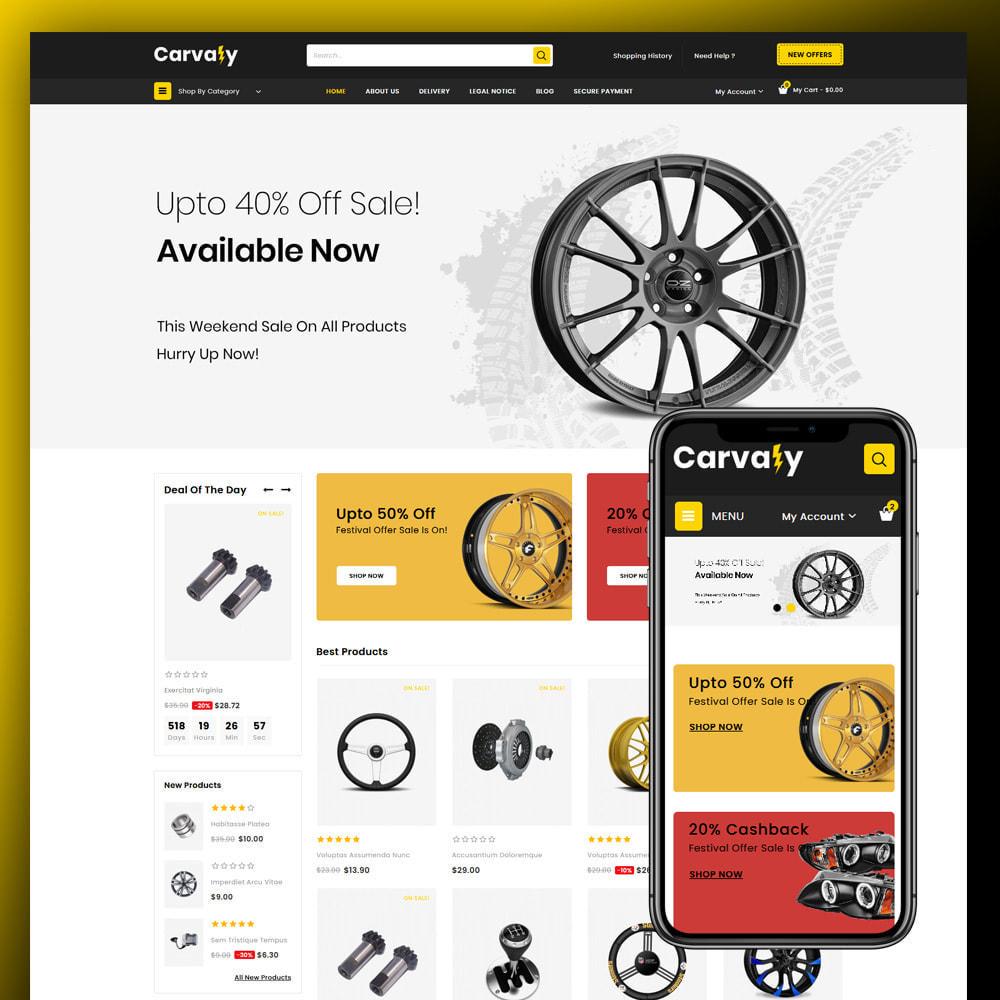 theme - Auto & Moto - Cavaly - Autopart Store - 1