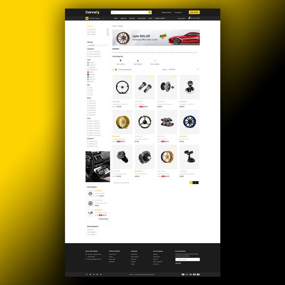 theme - Auto & Moto - Cavaly - Autopart Store - 4
