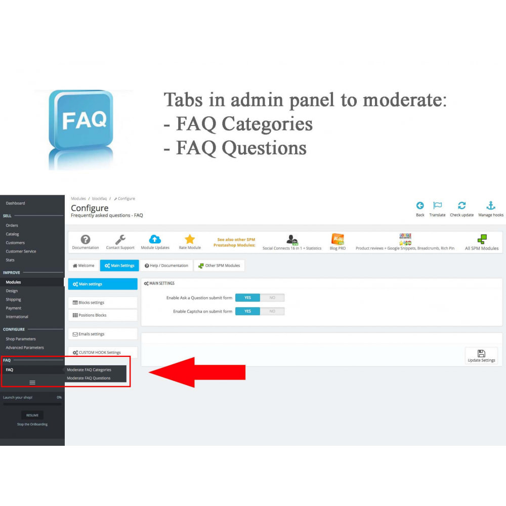 module - Preguntas Frecuentes - Frequently asked questions - FAQ - 12