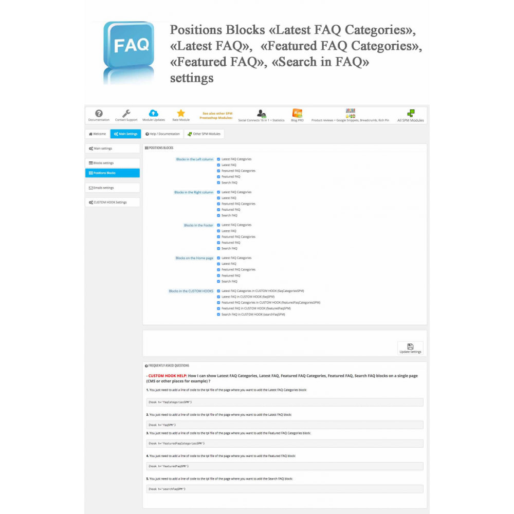 module - Preguntas Frecuentes - Frequently asked questions - FAQ - 15