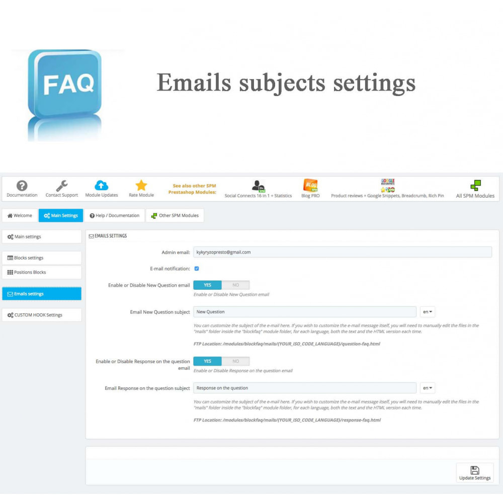 module - Preguntas Frecuentes - Frequently asked questions - FAQ - 16
