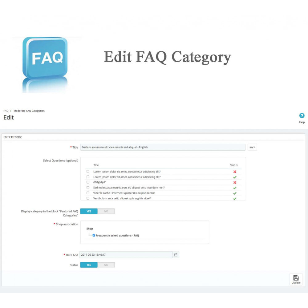 module - Preguntas Frecuentes - Frequently asked questions - FAQ - 19